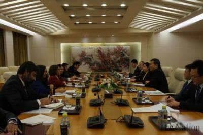 Chinese Deputy Foreign Minister held important meeting with Pakistani Ambassador in Beijing