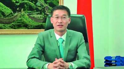 Chinese Ambassador vow to defeat enemy propaganda against Pakistan China CPEC project