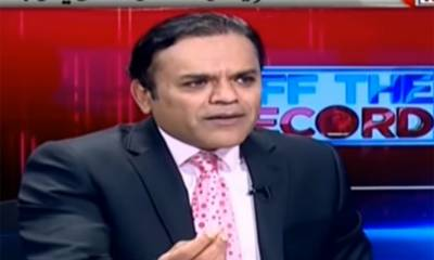 Top anchor person Kashif Abbasi lands in hot waters over his TV show with PTI leader Faisal Vawda