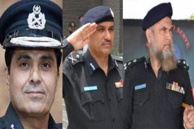 Federal government puts forward three names for the slot of the Inspector General of Police Sindh