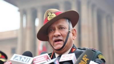 Indian Chief of Defence Staff General Bipin Rawat spits venom against Pakistan