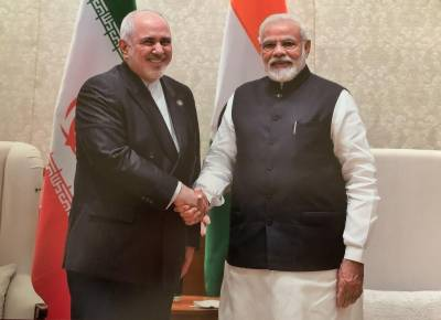 Iranian Foreign Minister Javed Zarif held important meeting with Indian PM Narendra Modi
