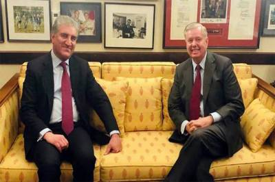 Pakistan FM Shah Mehmood Qureshi held important meeting with US Senator Lindsey Graham