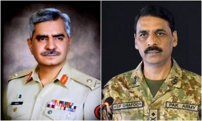 Why Major General Asif Ghafoor has been changed from post of DG ISPR?