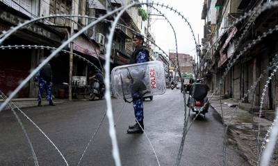 Indian Authorities further intensified restrictions across Occupied Kashmir