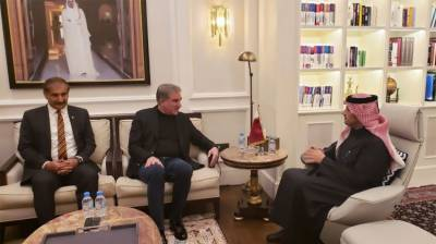 Pakistani FM Shah Mehmood Qureshi held important meeting with deputy Prime Minister of Qatar
