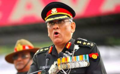 Indian CDS General Bipin Rawat confused over war scenario against Pakistan