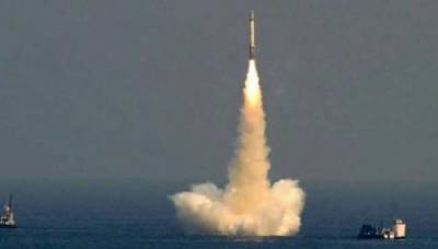Indian Navy test launched new submarine based ballistic missile