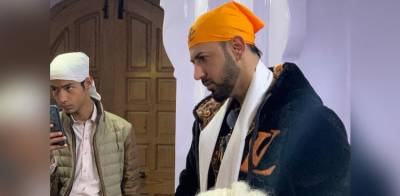 Indian Singer and Actor Gippy Grewal visits Pakistan