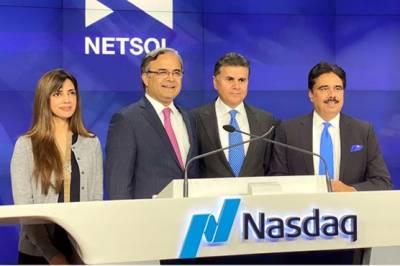 Pakistani Ambassador Asad Majeed rang the US Stock Exchange Closing bell in New York