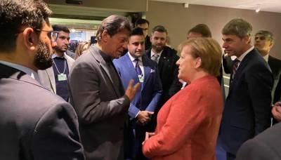 German Chancellor Angela Merkel makes an offer to Pakistani PM Imran Khan