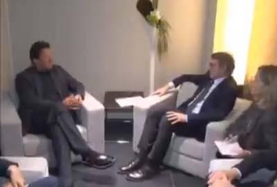 Pakistani PM Imran Khan held important meeting with European Union President