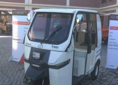 Pakistan unveiled first ever indigenous built electric rickshaw