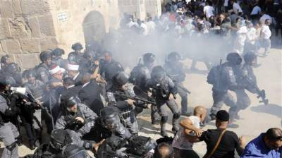 Israeli Forces storm Al Aqsa Mosque compound in Occupied Jerusalem Al Quds