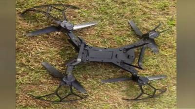 Indian Military claims shooting down Pakistani drone at the International Border