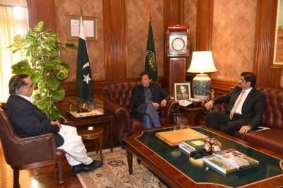 PM Imran Khan accepts the request made by CM Sindh Murad Ali Shah