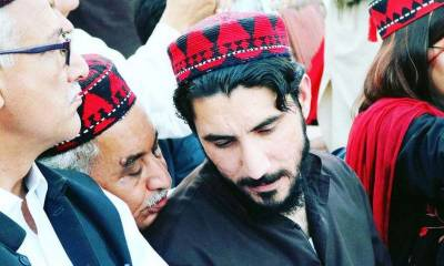 PTM disgruntled leader Manzur Pashteen arrested by Police