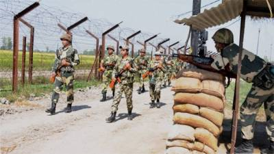 Unusual event at Pakistan India Border and Line of Control in Occupied Kashmir