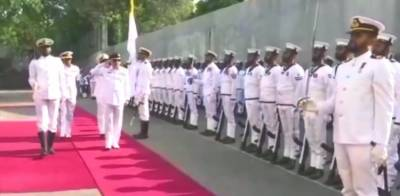 Pakistan Navy Chief held important meetings with the top civil and military leadership of Sri Lanka