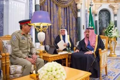 Pakistani Defence Services Chief held important meeting with Saudi King Salman bin Abdul Aziz