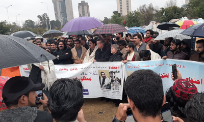 PTM leader Mohsin Dawar arrested by Police along with 15 workers in Islamabad