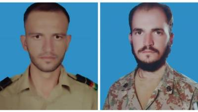 Two soldiers of Pakistan Army embraced martyrdom in operation against terrorists