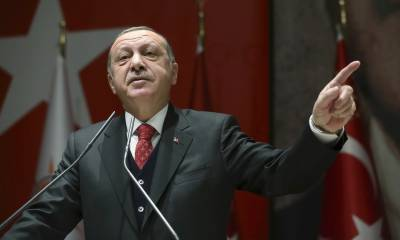 Turkish President Tayyip Erdogan hits out against Arab Countries for backing Middle East peace plan by US as