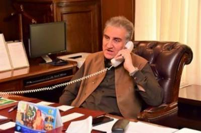 Pakistan FM Shah Mehmood Qureshi held important telephonic conversation with Chinese counterpart