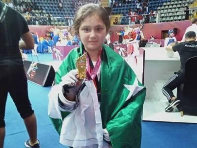 Pakistan's youngest female athlete in Taekwondo makes historic achievement in Dubai Championship