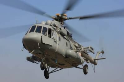 Indian Military Helicopter crashed in Occupied Kashmir