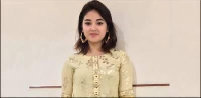 Bollywood Actress Zaira Waseem of Kashmiri origin raises strong voice for Occupied Kashmir lockdown