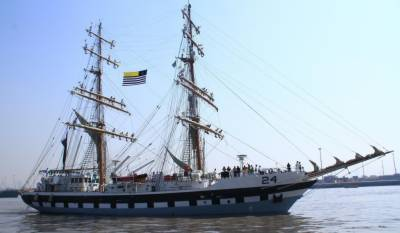 Pakistan Navy conducts a decorated cruise in solidarity with Kashmir
