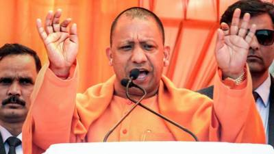 Pakistan phobia: Indian BJP extremist Chief Minister Yogi Adityanath mentions Pakistan 8 times in 48 seconds