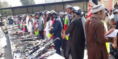 Atleast 406 Taliban fighters surrender to Afghan Forces joining peace process