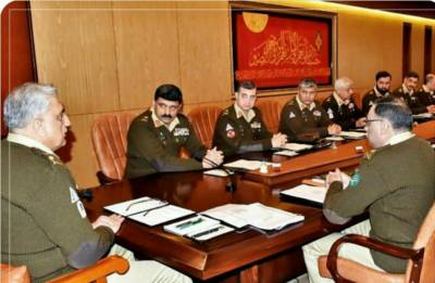 Pakistan Army Corps Commanders Conference responds to Indian Military threats against country