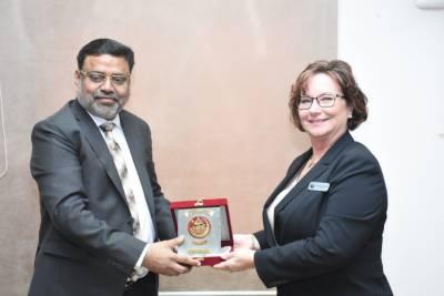 US leading University expressed interest in collaboration with Pakistani University