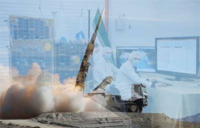 IRGC unveiled a new missile with a composite engine for missile and satellite carriers