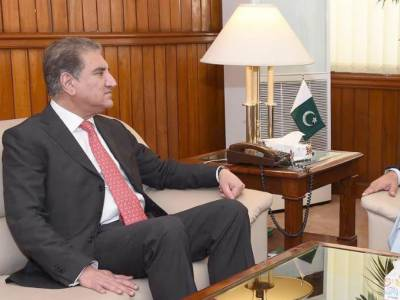 British High Commissioner held important meeting with Pakistan FM Shah Mehmood Qureshi