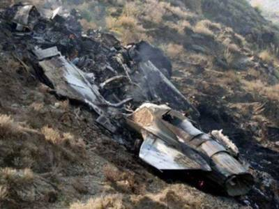 Pakistan Air Force another Aircraft crashed during routine training flight, Pilot survived miraculously
