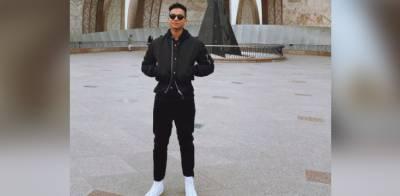 Rising american singer Jaafar Jackson is impressed with Pakistan
