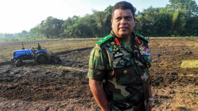 Military Chief barred from entering United States