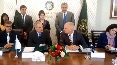 Australian government approved development grant for Pakistan