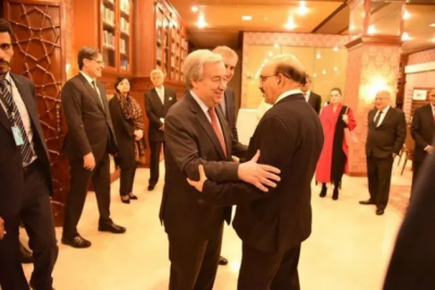 Don't let India make the UN Security Council hostage by its obduracy over Occupied Kashmir conflict, Pakistan tells UN Chief