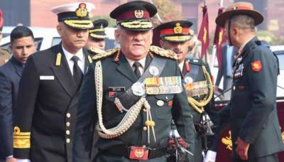 Indian Navy surveillance warfare aircraft deployed along Pakistani borders, reveals CDS General Bipin Rawat