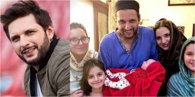 Legendry Skipper Shahid Afridi reveals the name of her New Born Baby Girl