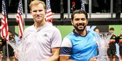 Pakistan's Aisamul Huq wins the final of New York Open Tennis Championship