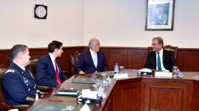 Top US envoy Zalmay Khalilzad is all praise for Pakistan over Afghanistan peace process