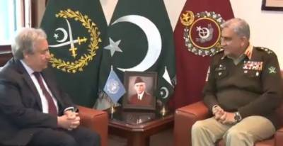 UN Chief Antonio Guterres is all praise for Pakistan Army Chief General Qamar Bajwa