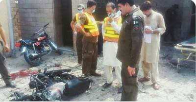 Bomb blast in Khyber Pakhtunkhwa targeting Police force carrying out anti polio campaign