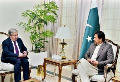 PM Imran Khan delivered important message to UN Chief against Indian PM Narendra Modi's intentions